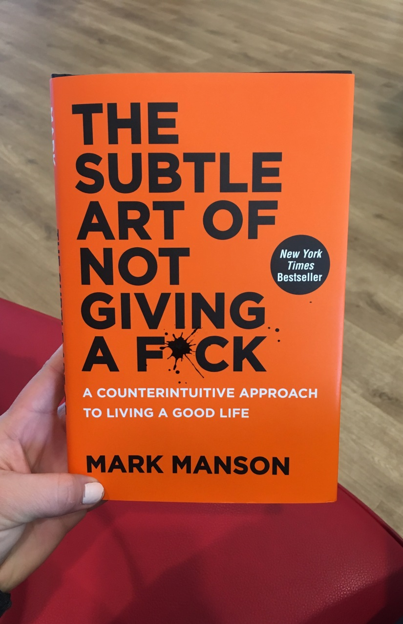 The Knackered Book Club: The Subtle Art of Not Giving aF*ck