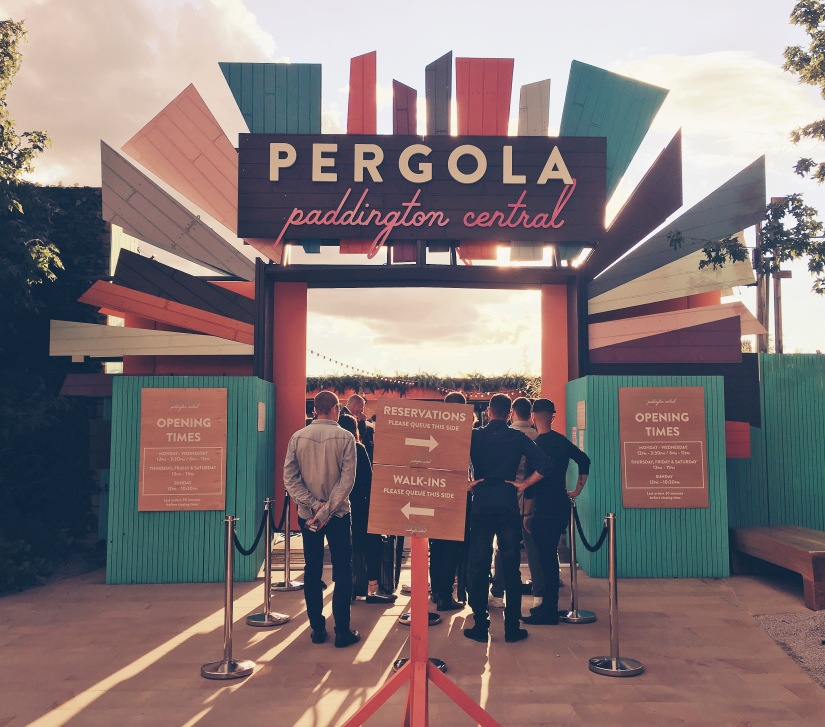 Pergola at Paddington Central: A West London Adventure